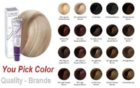 ion color brilliance color chart pin by on look of ion hair dye color chart