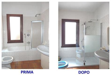 sostituire la vasca da bagno con una doccia progetto sostituire vasca con doccia a brescia idee