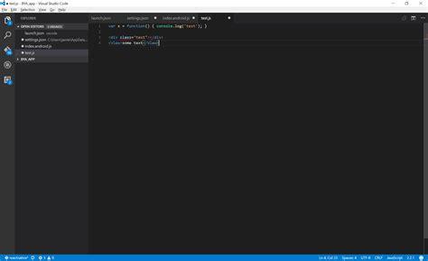format js file in visual studio react native visual studio code formatting fail on save