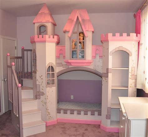 little girl castle bed 16 cool bunk beds you wish you had as a kid