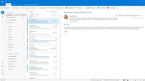 Microsoft Outlook microsoft is redesigning outlook for mac and windows the verge