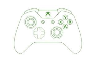 xbox one controller template xbox free engine image for