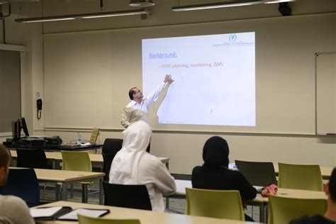 Gust Kuwait Mba by Gust Mba Hosts Koc Engineer For Presentation On Process