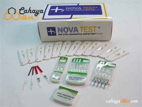 Alat Rapid Tes rapid test hcg urine test isi 100 cahaya alkes