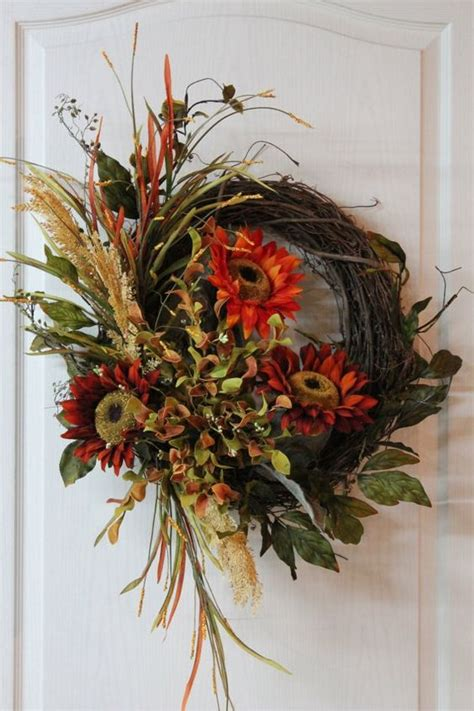 Front Door Wreaths For Fall Fall Wreaths Wreaths For Front Door And Front Doors On