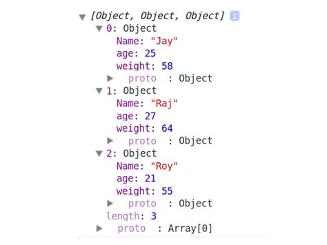 tutorial javascript object json array in javascript revisisted