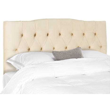 Velvet Tufted Headboard Axel Velvet Tufted Headboard 8230213 Hsn