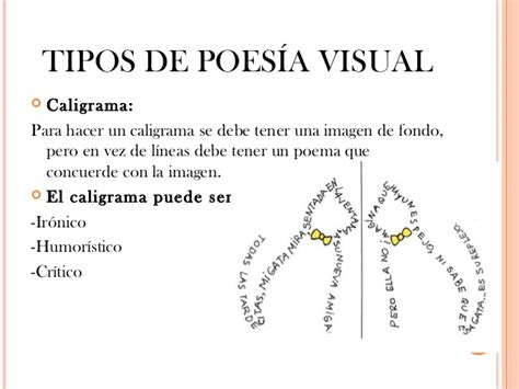 imagenes visuales en poemas poesia visual