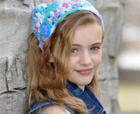 Emily Bandana Chevronana Bows Headband tweens images usseek