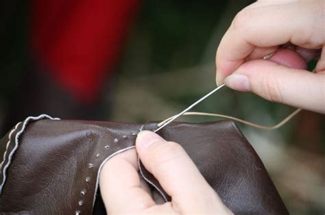 sewing 101 the basics of sewing leather