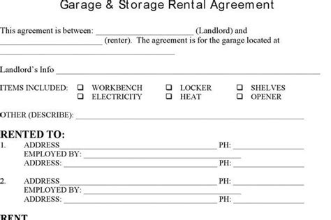 Download Storage Rental Template For Free Tidytemplates Storage Space Lease Agreement Template