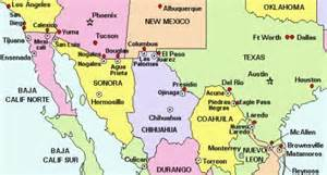 map of mexico border towns maquiladoras