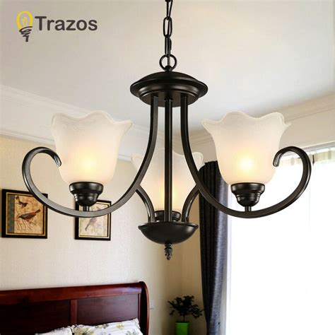 Wrought Iron Dining Room Light Fixtures by New Wrought Iron Chandelier Light Modern Hanging Luminaires Lighting El Restaurant