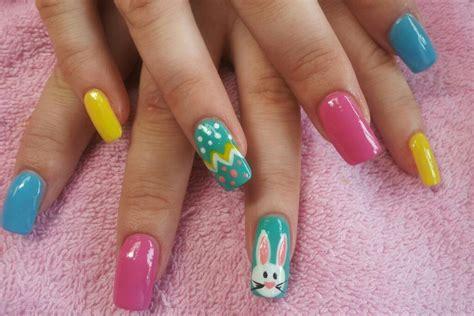 Nailart Ostern easter nail designs acrylic nail designs