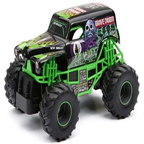grave digger toy monster truck grave digger rc remote control truck monster jam toy