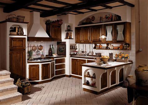 interni di rustiche 30 cucine in muratura rustiche dal design classico
