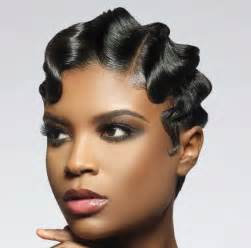 black hair dos in the back in the top 30 glamorous finger wave styles for any hair length