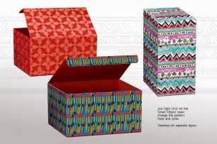pattern mock up box mock up panels patterns product mockups on
