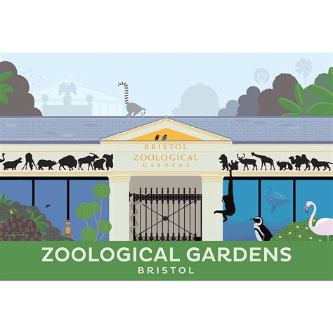 printable bristol zoo vouchers bristol zoo print by andy tuohy design