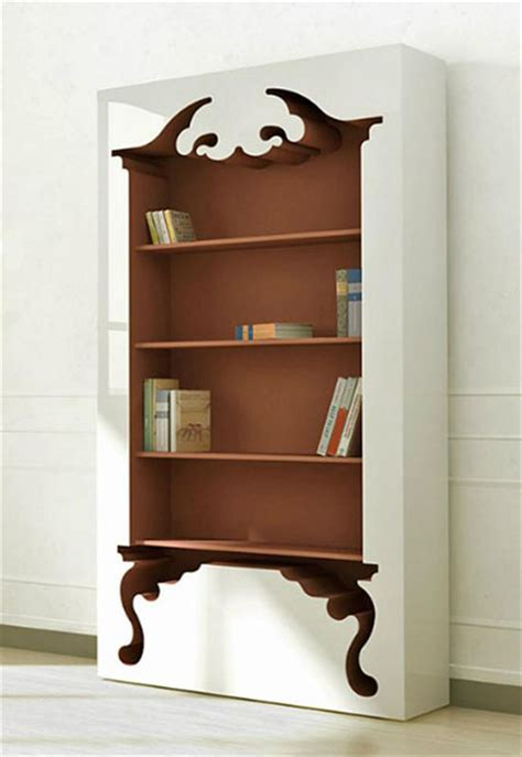unique bookshelves unique bookcase with vintage style inspired by classic furniture forms home design home decor