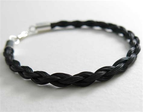 Handmade Hair Bracelets - gemosi spirit hair bracelet black gemosi