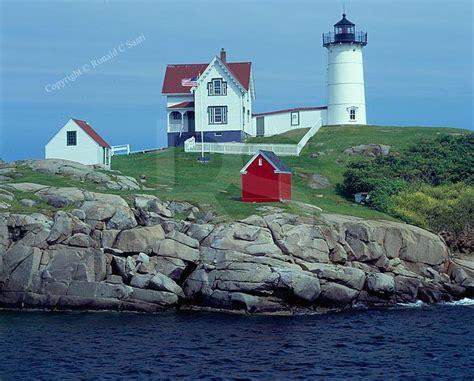 Cape Neddick Light by Cape Neddick Lighthouse Delightful Destinations