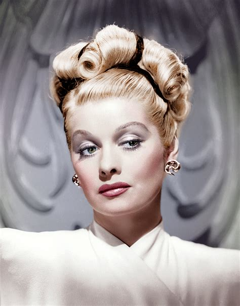 lucille ball s retro beauty look is no laughing matter i love lucy lucille ball hair the ultimate resting bitch