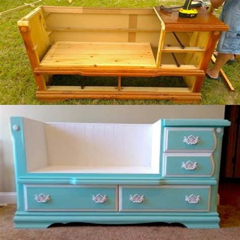 bench dresser diy dresser to bench for your home by vicki payne