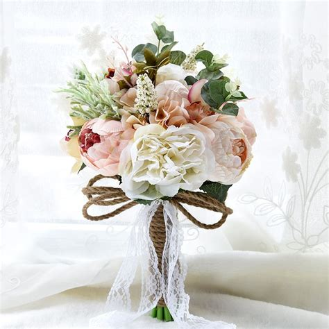 Wedding Bouquet Artificial Flowers by Best 25 Artificial Bouquets Ideas On