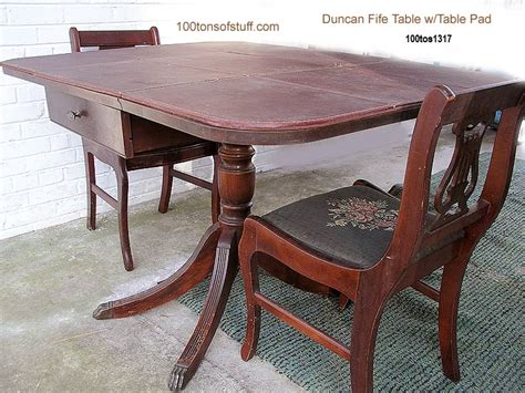 duncan phyfe dining table and chairs for sale 85 dining table and chairs for sale fife duncan
