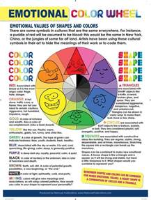 color theory emotions 513 best elements of color lessons images on