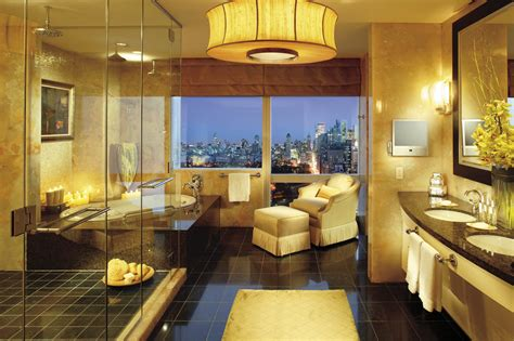 presidential suite bathroom mandarin oriental new york kicks off i fan super owl package with new cutting edge
