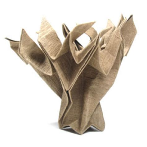 Origami Tree Trunk - how to make an origami tree page 1