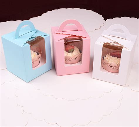 How To Make A Cupcake Box Out Of Paper - 12pcs lot large cake box cupcake box cake pop supplies