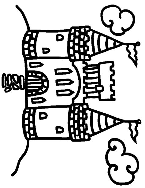 Castle Coloring Pages For Kids   Coloring Home