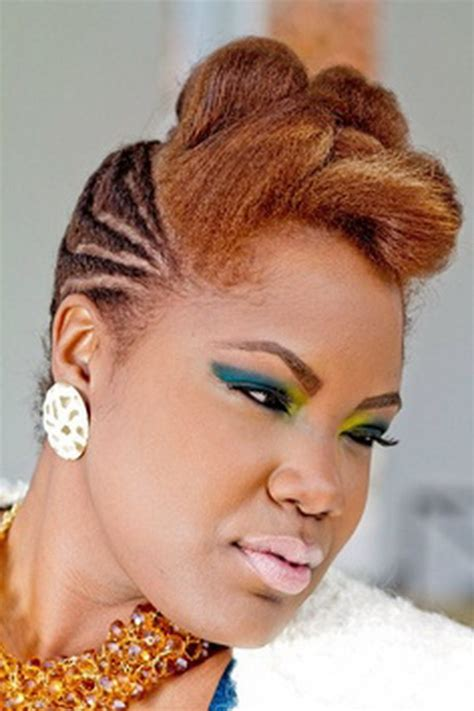 pin  hairstyles  black women