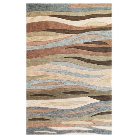 8 x 10 rugs lowes shop kas rugs trend setter green rectangular indoor tufted area rug common 8 x 10 actual 93