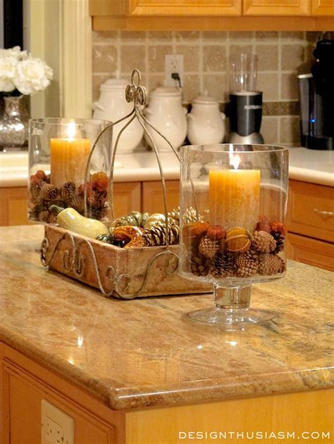 Kitchen Counter Decorating Ideas Pictures Best 25 Fall Kitchen Decor Ideas On Pinterest Kitchen Counter Decorations Blue Kitchen Decor
