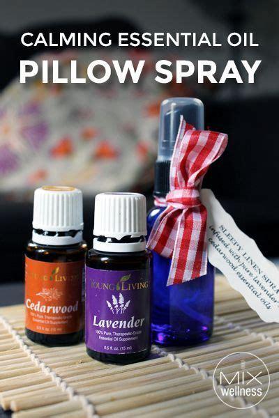La Room Spray Peppermint calming essential pillow spray recipe essential