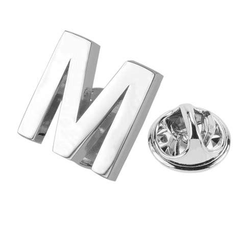Buy Wholesale Letter S Logo - aformen bulk letter alphabet lapel pin buy alphabet