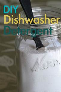 How To Make Dishwasher Tablets How To Make Dishwasher Detergent All She Cooks