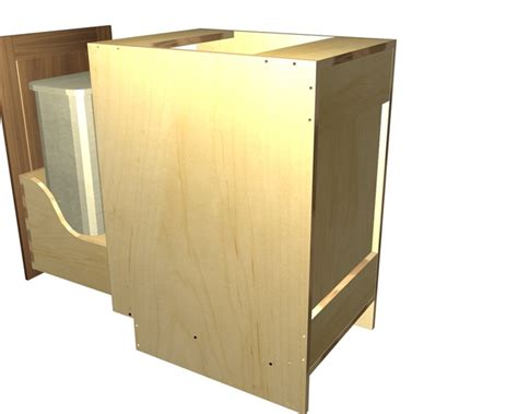 pull out trash can cabinet diy pull out trash cabinet bar cabinet