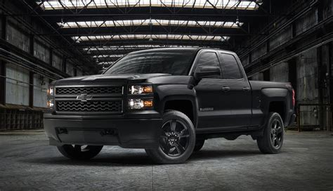 Blackout Blazer Series black out edition 2014 2018 silverado 1500 gm
