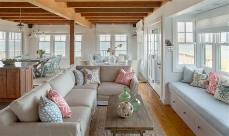 houzz coastal living rooms martha s vineyard interior design cottage style family room boston by eric roth