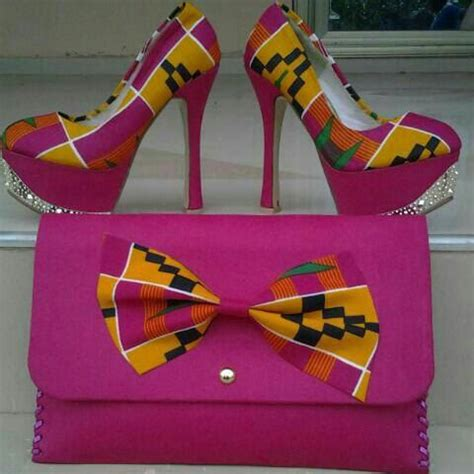 Sandal Flat Wenny print shoes and purse and accessories by ejafricanproducts fashion