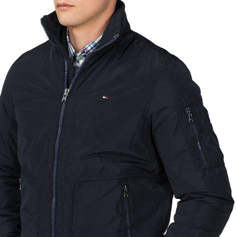 Micha Bomber Jacket hilfiger micha bomber jacket in blue for
