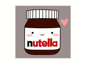 Food Wall Stickers quot cute nutella jar quot art prints by cafebunny redbubble