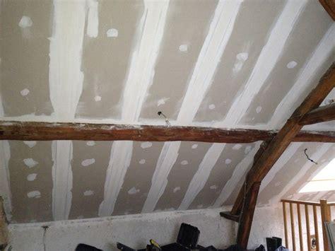 isolation thermique du plafond par l int 233 rieur