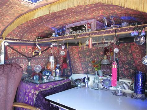 hippie van interior   travels plan