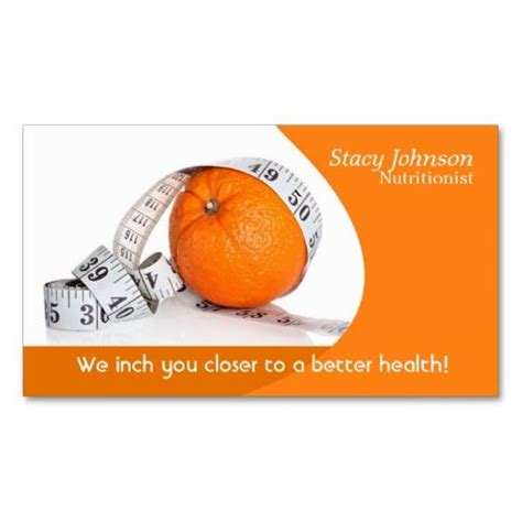 nutritionist business card templates 253 best images about dietitian business cards on